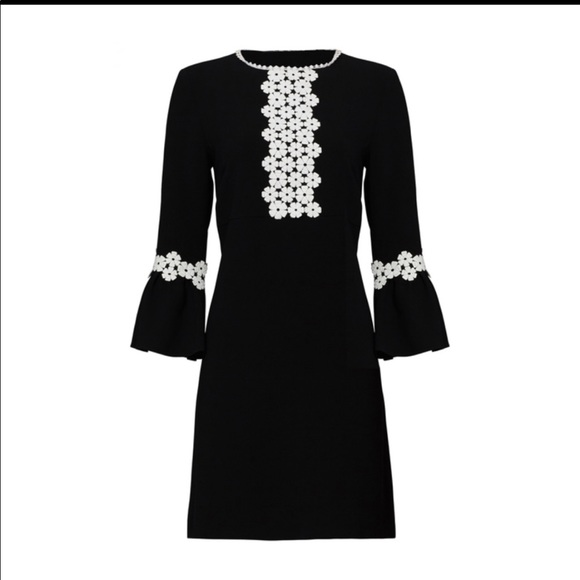 Parker Dresses & Skirts - Parker black 70s style mini dress